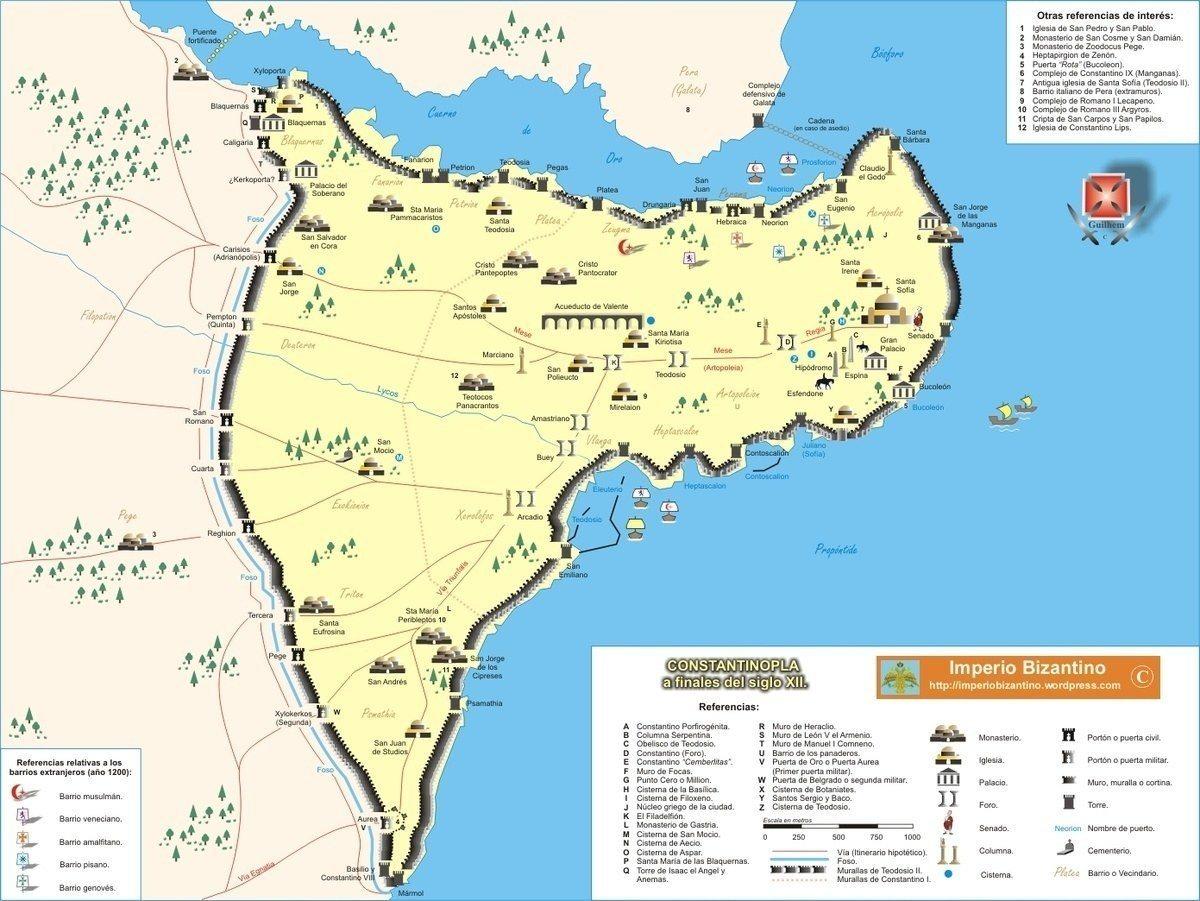 imperio-bizantino-origen-mapa-constantinopla