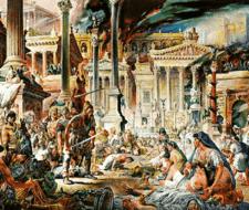 La fusión de los romanos y germanos