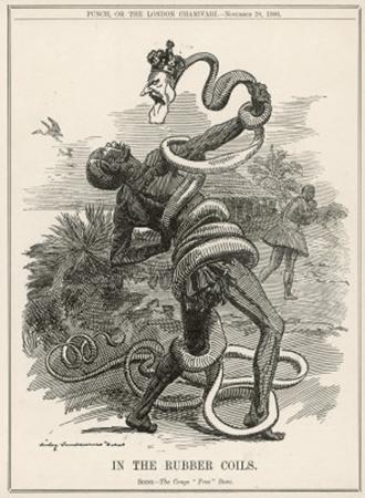 imageRepresentación del Rey Leopoldo devorando el Congo