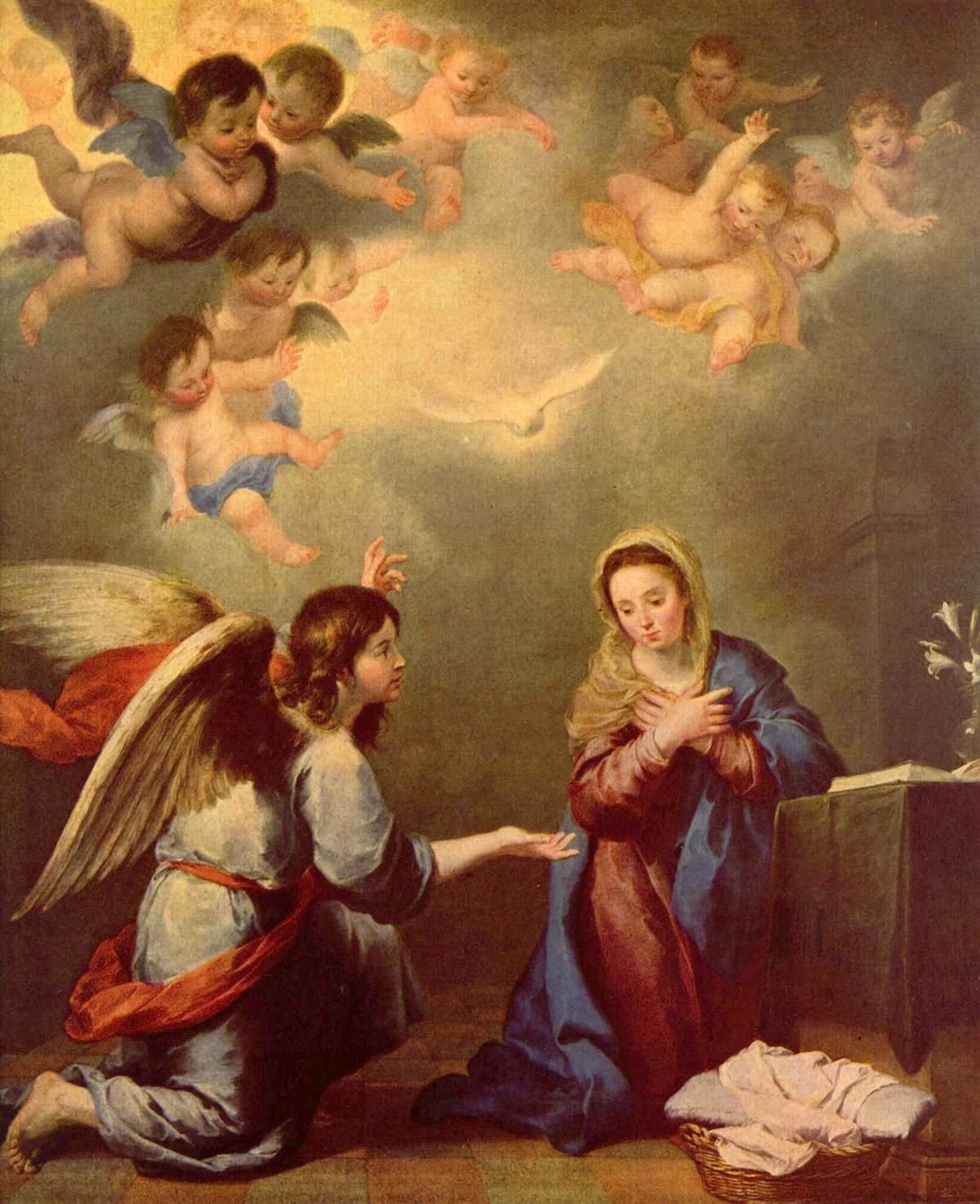 Murillo cuadro María