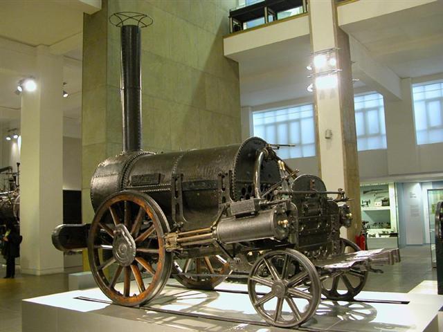 máquina de vapor Stephenson