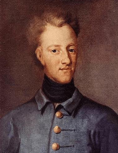 Carlos XII, por David von Krafft (1706). Via: Wikimedia Commons