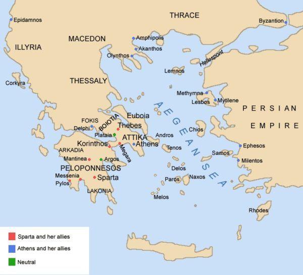 la-guerra-del-peloponeso-atenas-vs-esparta-ciudades-peloponeso-atenas