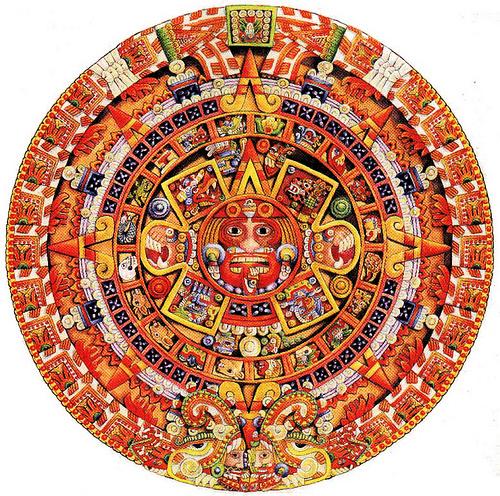 El calendario maya for Del sol horario