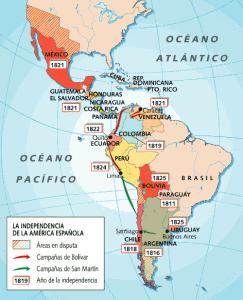 america-latina-la-formacion-de-los-estados-nacionales-indenpendencia-de-la-america-española