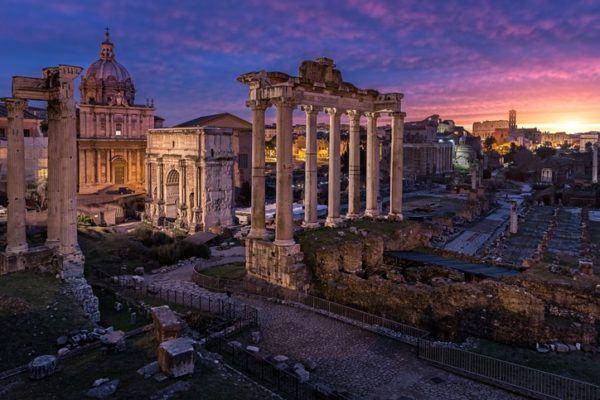 Republica romana foro romano