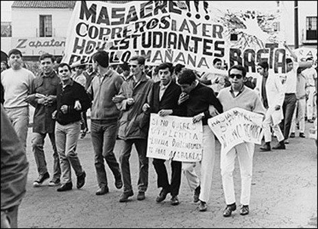 Tlatelolco student massacre in Mexico 68