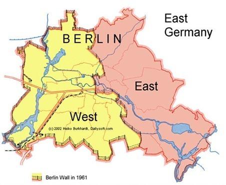 la division de alemania la antesala del muro de berlin. Black Bedroom Furniture Sets. Home Design Ideas