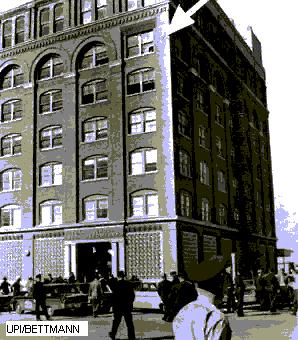 edificio desde el que se disparo a Kennedy