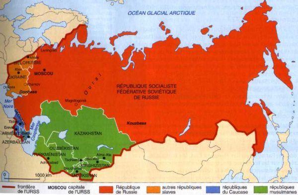 MAPA REVOLUCION RUSA
