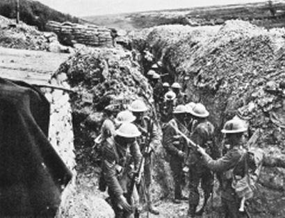 Primera guerra mundial.-