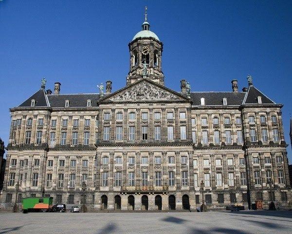 Ayuntamiento de amsterdam
