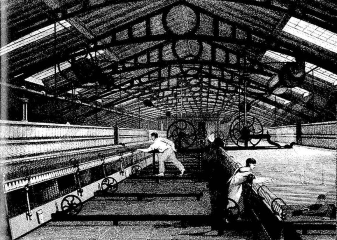 revolucion-industrial-trabajadores - SobreHistoria.com