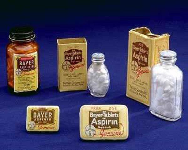 La revolución industrial aspirina