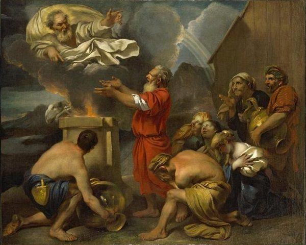 Cuadro la Ofrenda de Noé