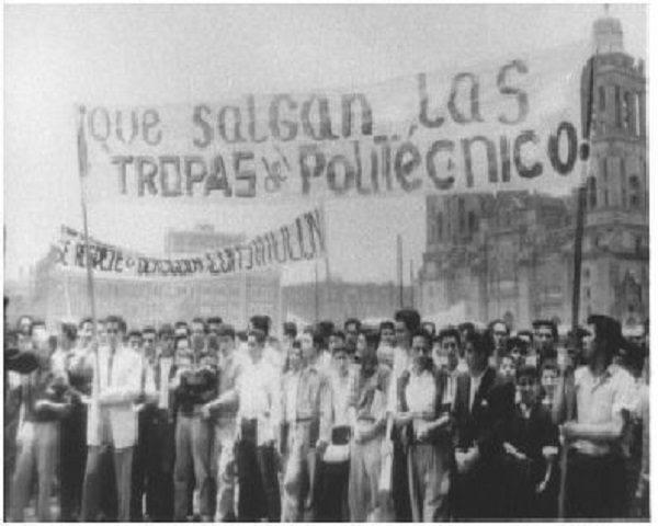 Tropas politécnico 1968