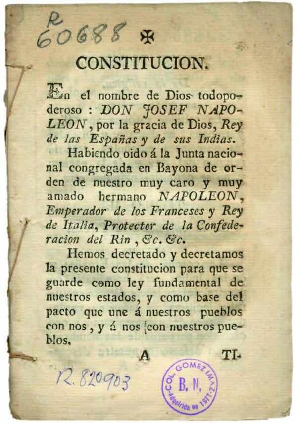 Tratado de Bayona