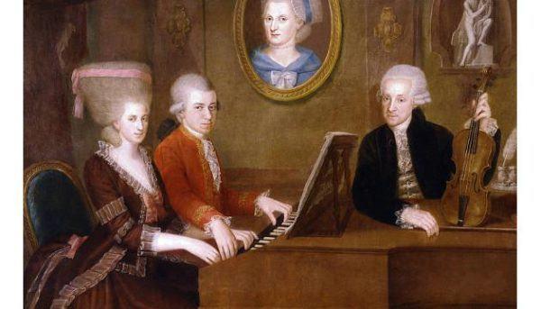 La familia Mozart tras la muerte de Anna María