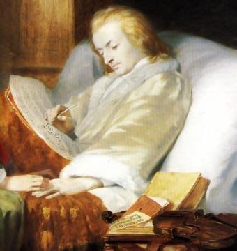 El mismo día de su muerte Mozart trabajó en su obra inconclusa Requiem