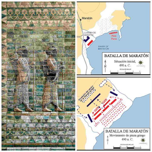 La Batalla de Maratón. Primera Guerra Médica