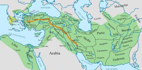 cultura-persa-mapa-politico