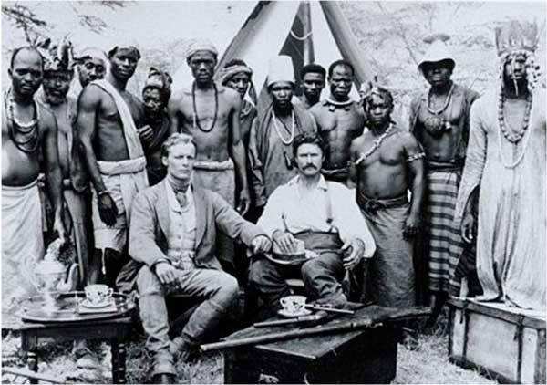 Burton, primer hombre blanco en Somalia