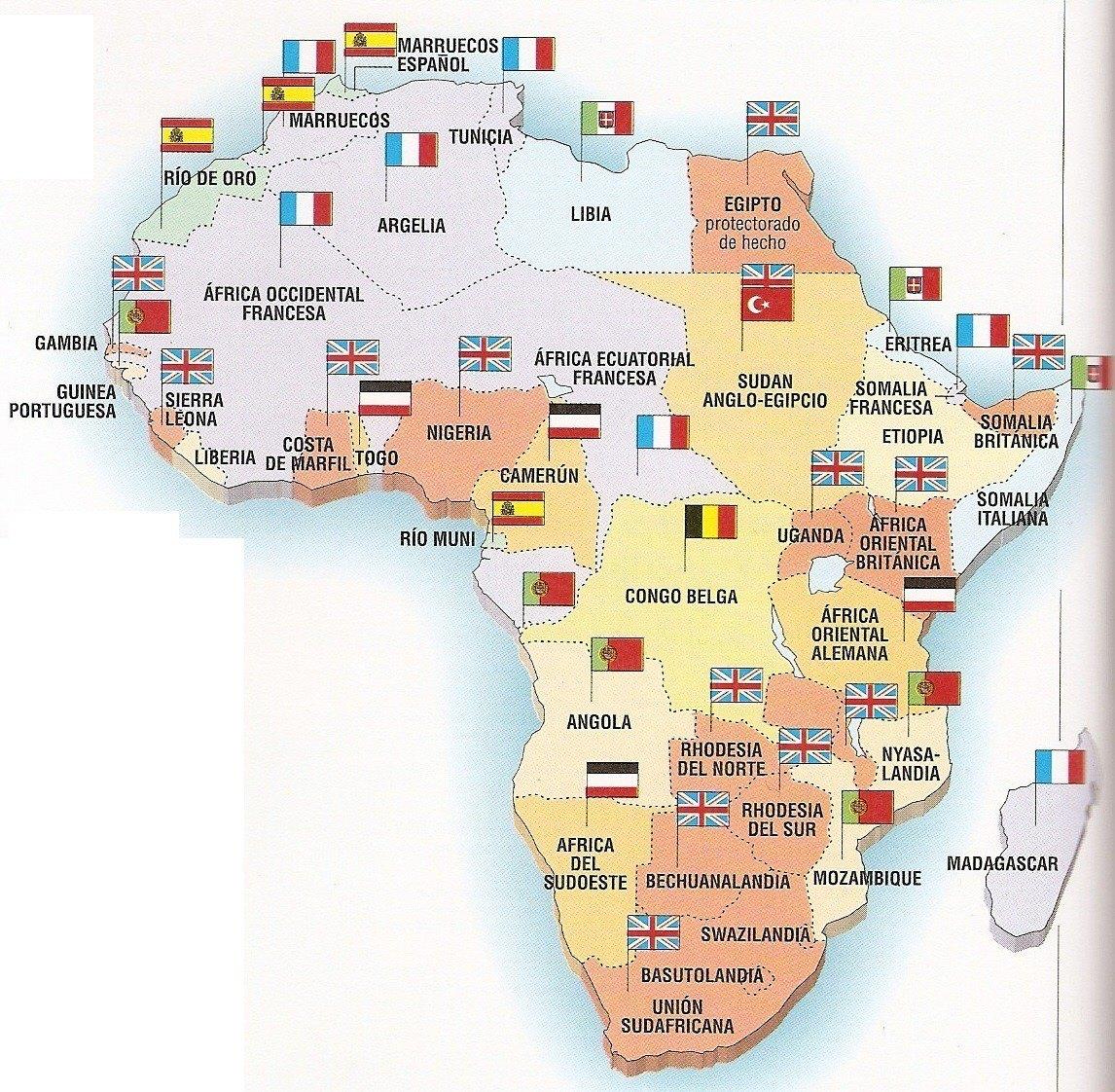 El Imperialismo en el siglo XIX el reparto del mundo