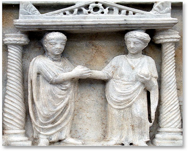 Matrimonio Imperio Romano : Matrimonio romano sobrehistoria