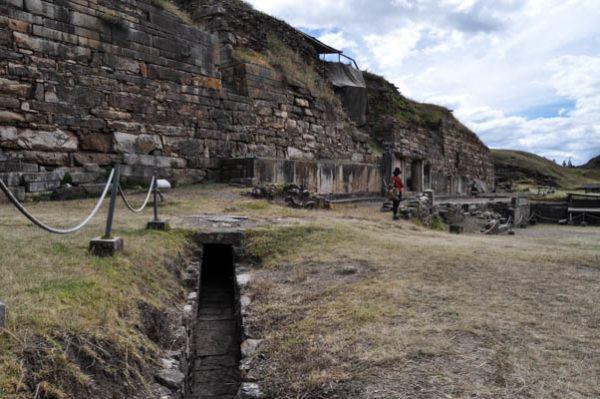Antiguo canal de riego