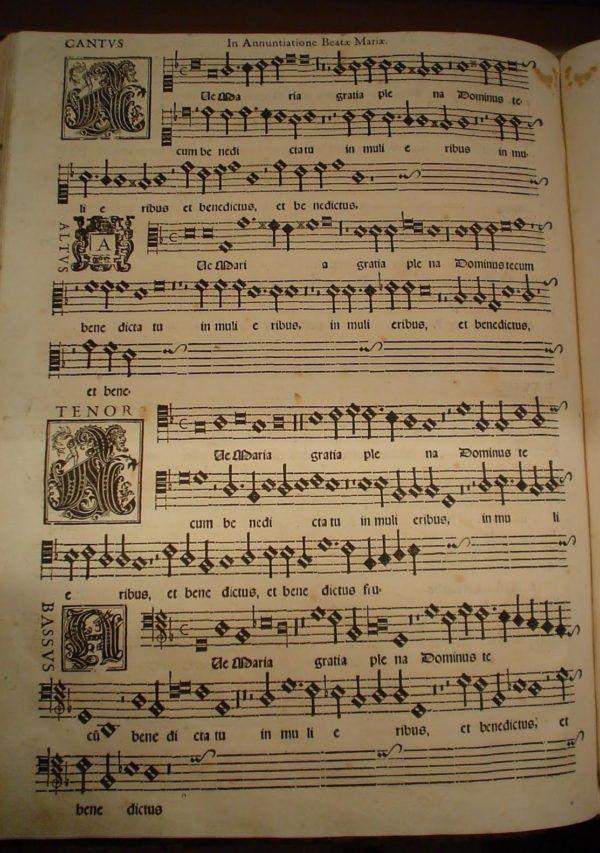Cánticos- Anunciación Beata María