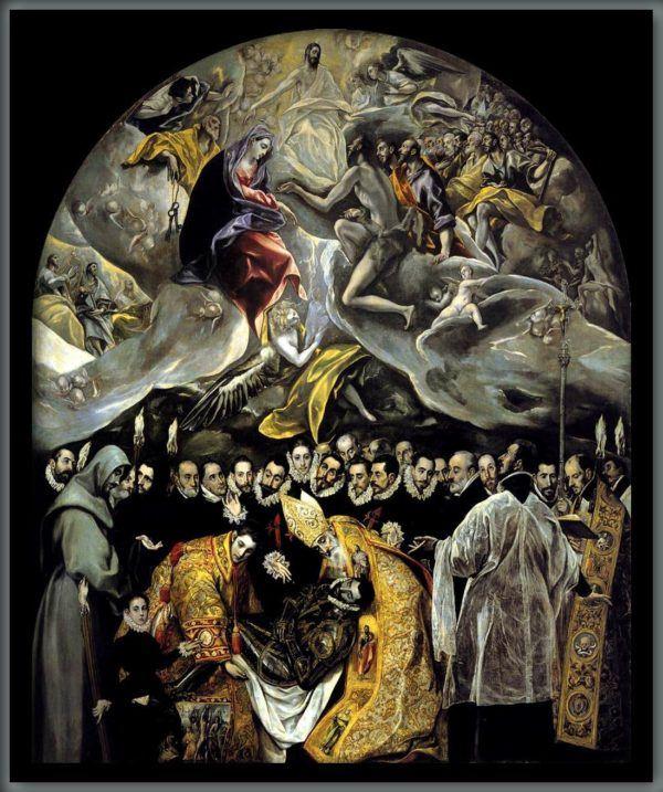 El Entierro del Conde de Orgaz. El Greco