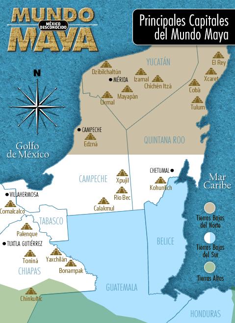 La cultura maya for Cultura maya ubicacion