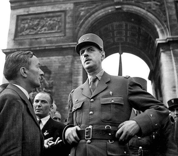 General De Gaulle era un tipo testarudo
