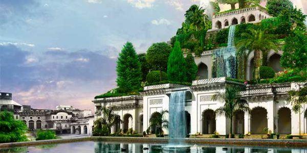 La torre de babel for Jardines colgantes de babilonia
