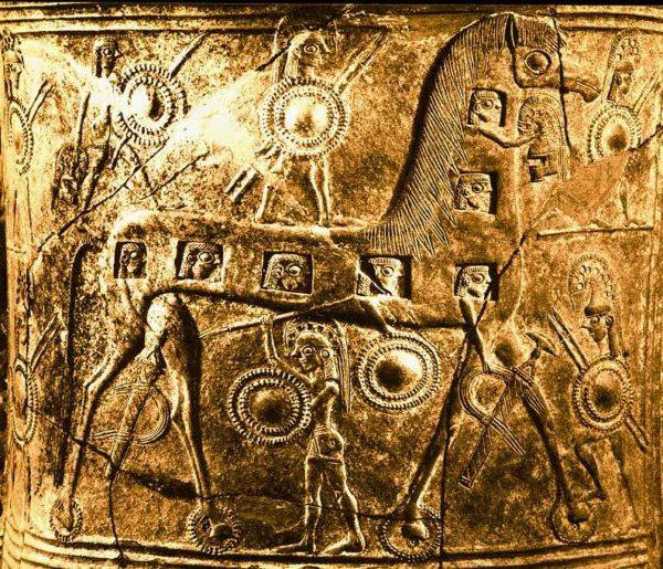 Representación del Caballo de Troya