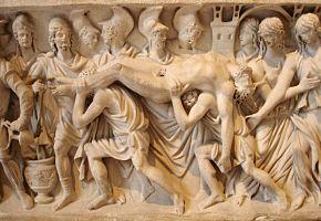 La entrega del cadáver de Héctor a su padre