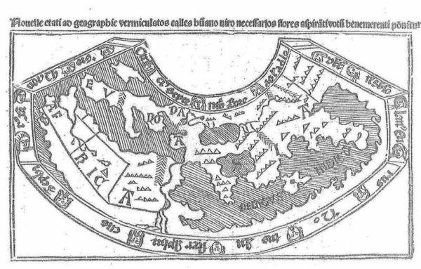 Primeras cartografías griegas y romanas