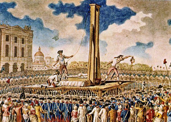 Luis XVI, es guillotinado