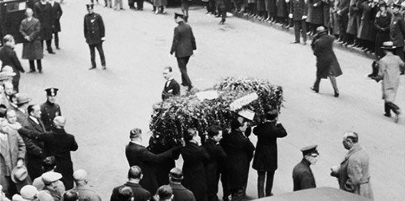 como-murio-houdini-funeral
