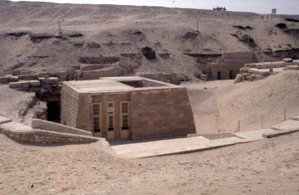 Imagen exterior de una Mastaba