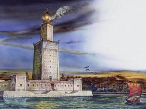 Reconstrucción Faro Alejandría