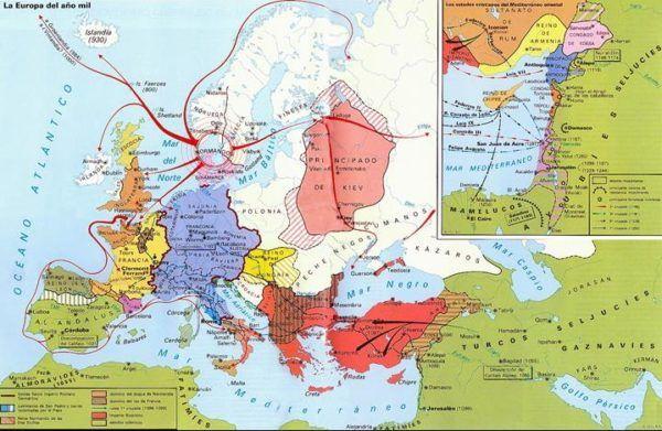 Situación Europea en el Año 1000