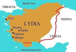 Región de Lydia, Turquía