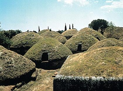 Necrópolis de Banditaccia.
