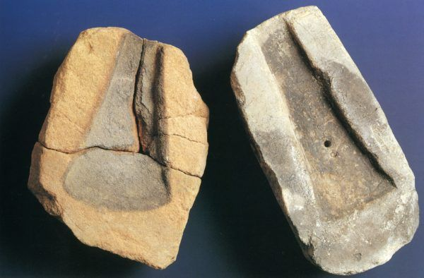 Moldes de fundición de la Edad del Bronze