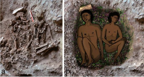 prehistoria-paleolitico-enterramiento