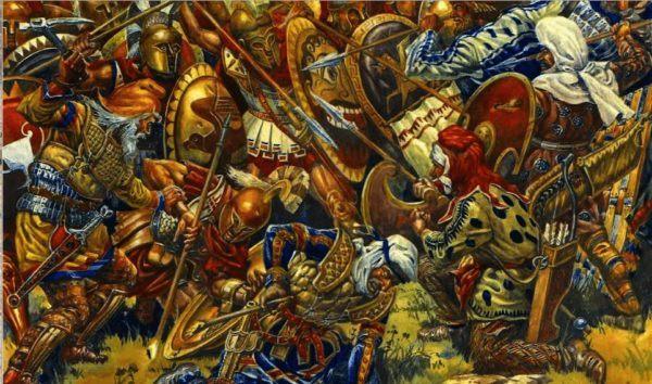 esparta-batalla