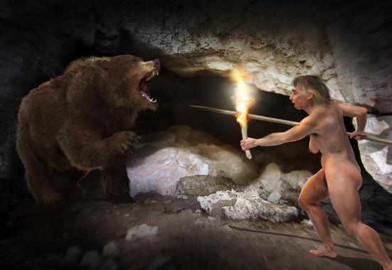 homo-neardenthalensis-caza-oso