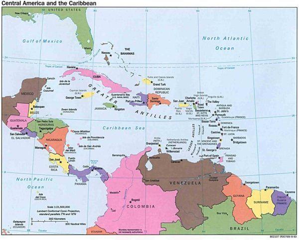 mapa-de-america-mapa-america-central-capitales-ciudades