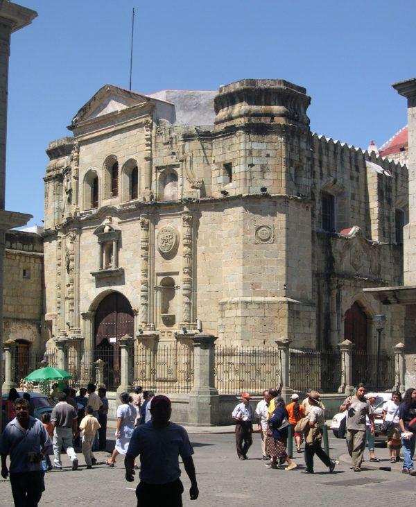 Templo de la Compania de Jesus, en Guanajuato, Mexico